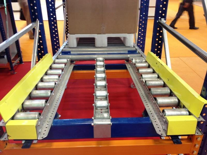 Yarı Otomatik Mekik (Satalite- Shutle system) Depo Raf Sistemleri